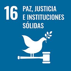 ODS Paz, justicia e instituciones sólidas