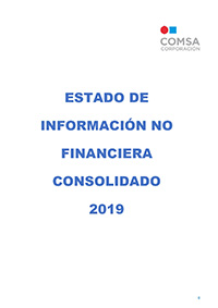 Estado de información no financiera consolidado 2019